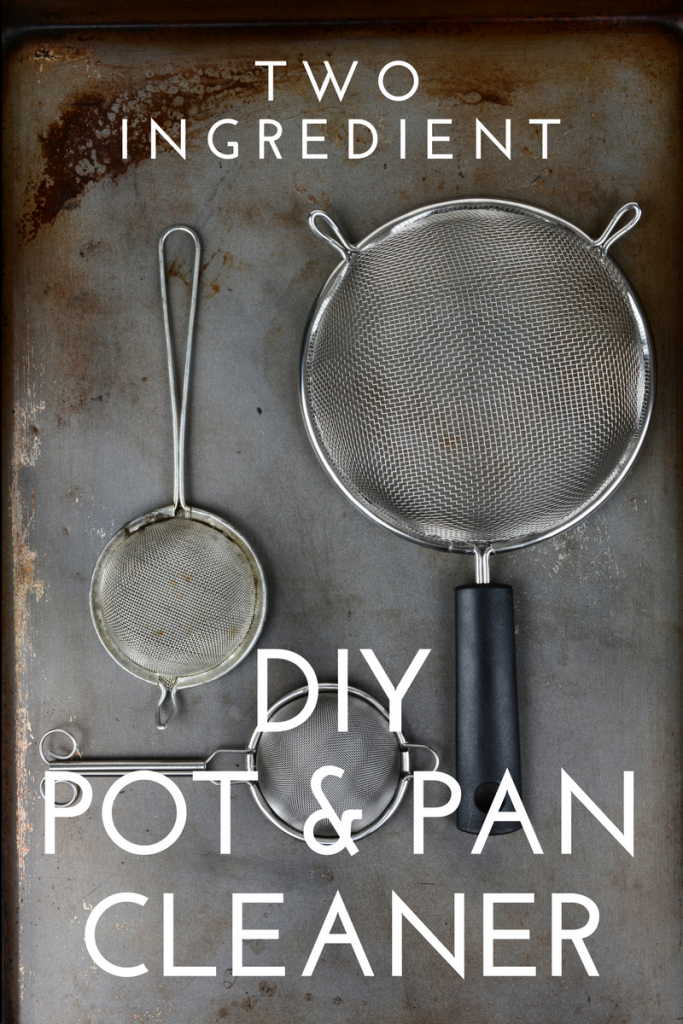 DIY Pot and Pan Cleaner