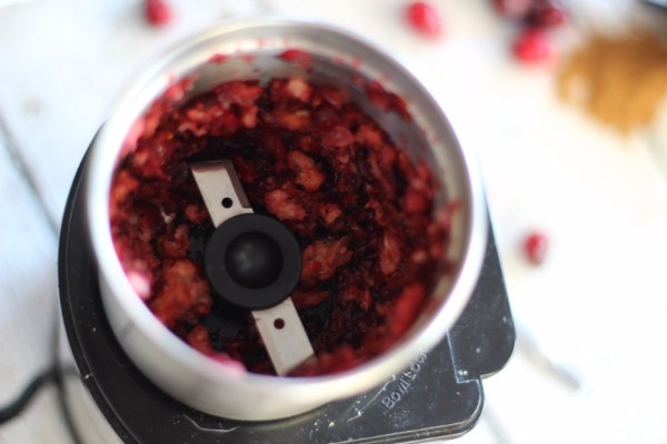 DIY Cranberry Face Scrub