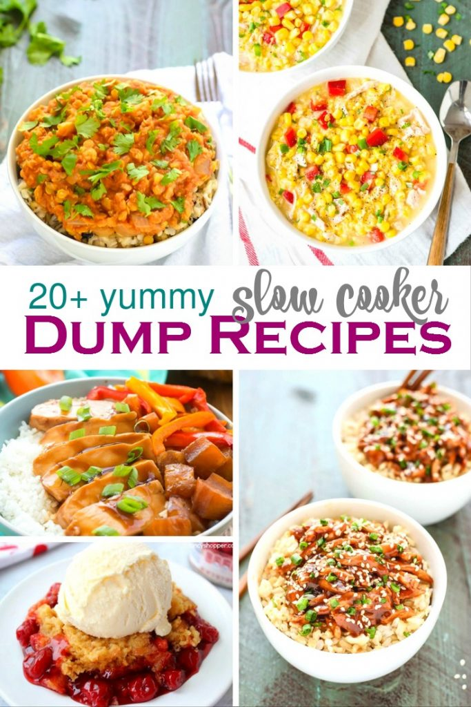 20 Delicious Slow Cooker Dump Recipes Your Family Will Love