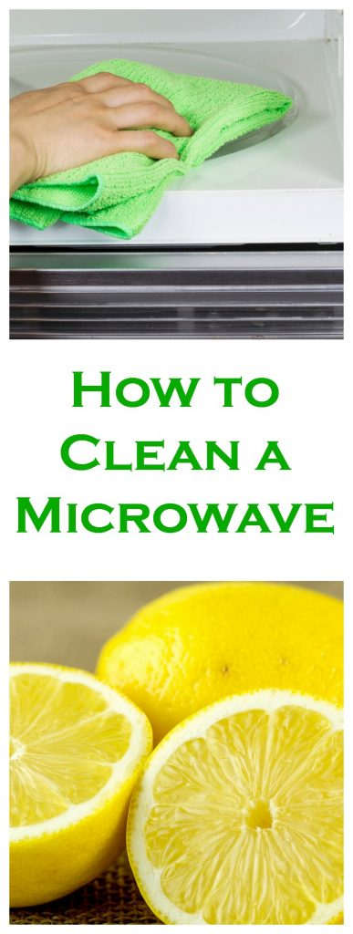 The Best way to Clean Your Microwave