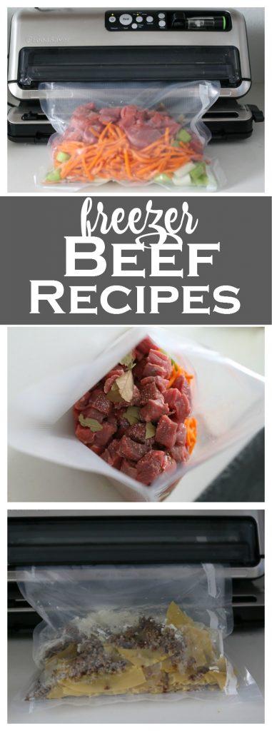 Beef Freezer Meal Recipes