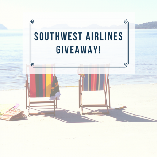 Surprise Trip with Southwest Airlines and Giveaway