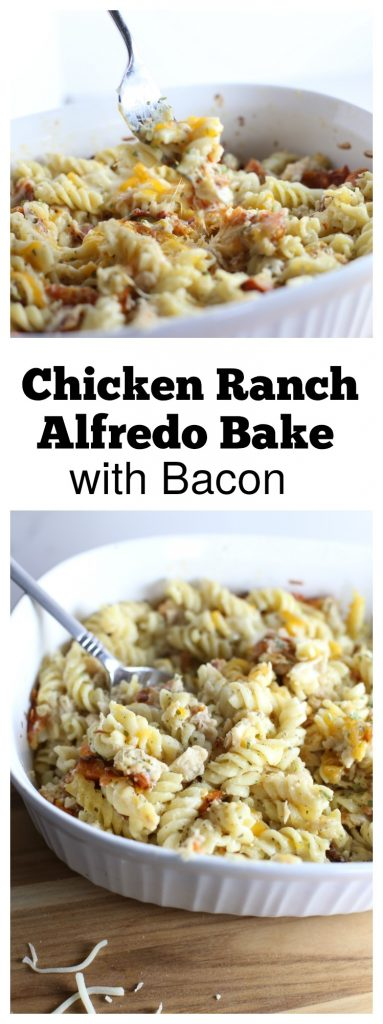 Ranch Chicken Alfredo with Bacon