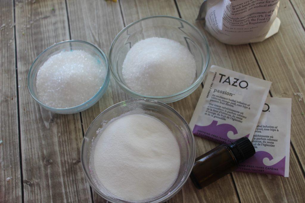 Herbal Tea Lavender Bath Bombs