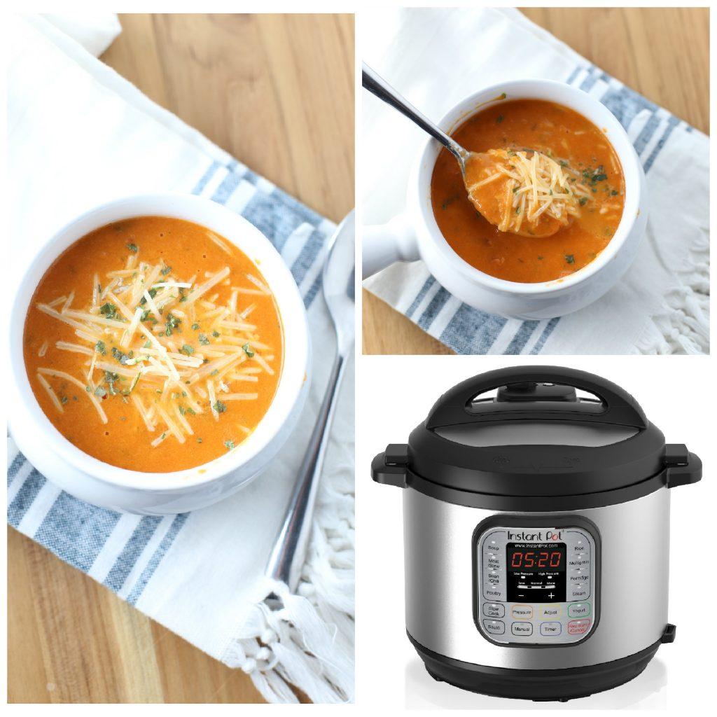 Instant Pot Tomato Basil Soup