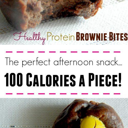 Healthy Protein Brownie Bites