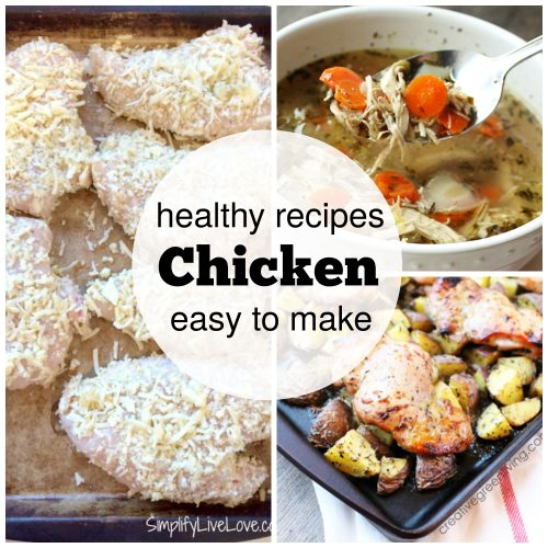 Healthy Chicken Recipes for the New Year