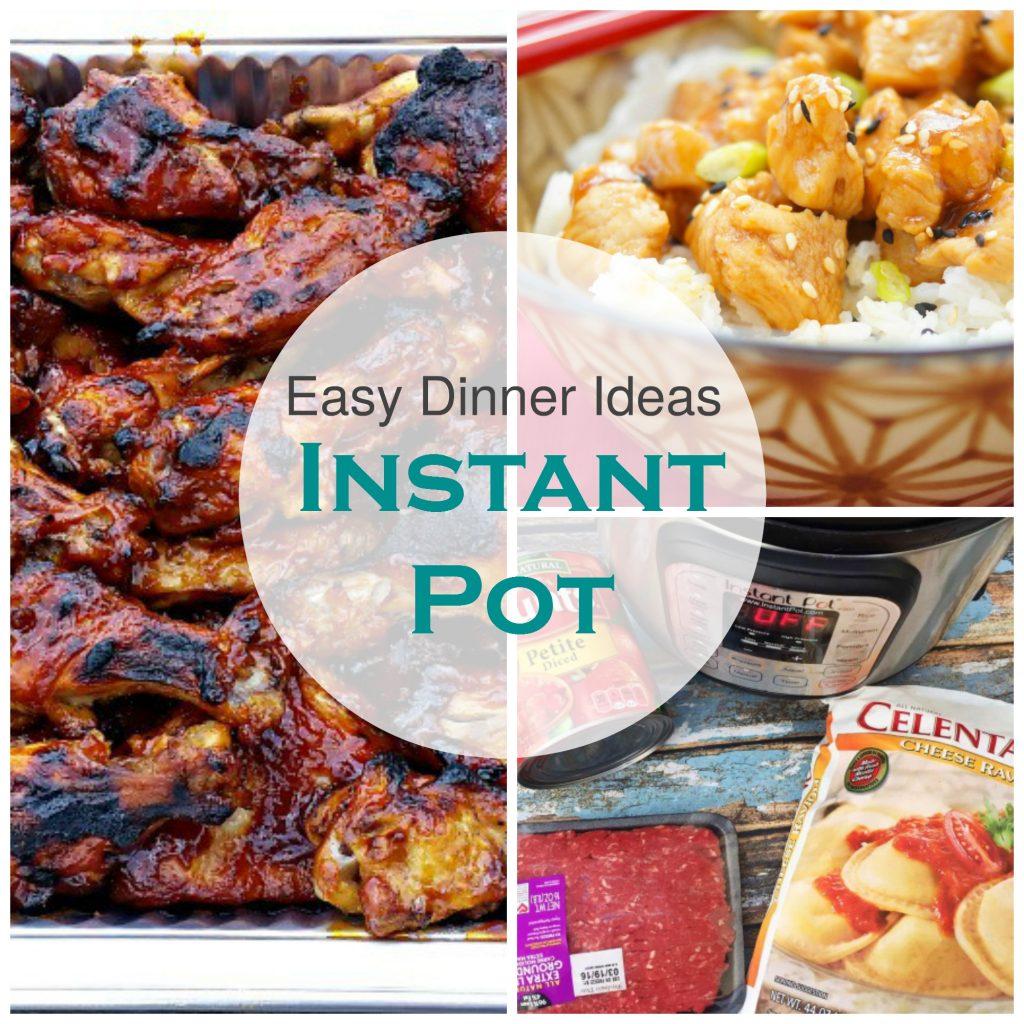 Easy Instant Pot Dinner Meal Ideas