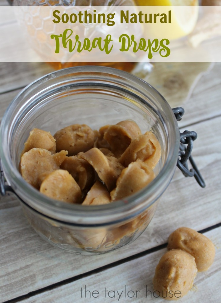 How to make Soothing DIY Throat Drops
