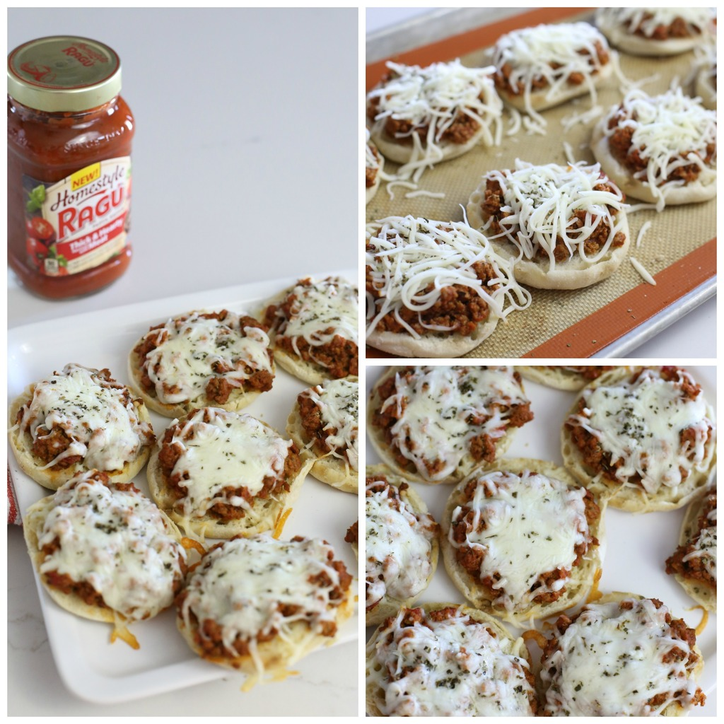 Four Ingredient Easy Pizza Burgers