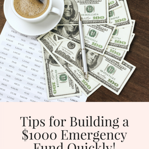 Tips for Building up a $1000 Emergency Fund Quickly