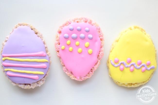 Crispy Rice Easter Eggs from Kids Activities Blog