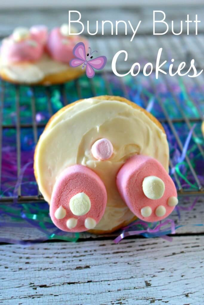 Bunny Butt Cookies from Princess Pinky Girl