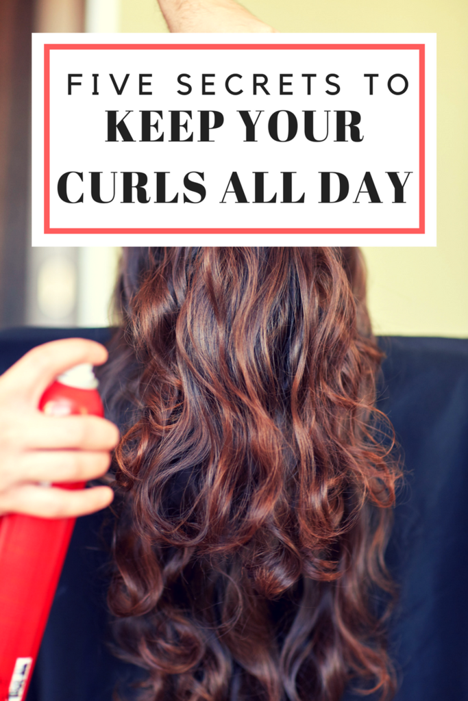 Five Secrets for Curls that Last All Day