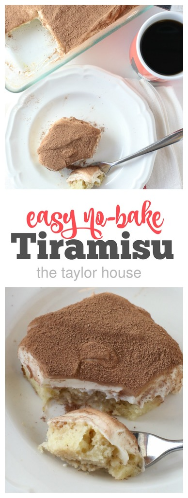 Easy No-Bake Tiramisu
