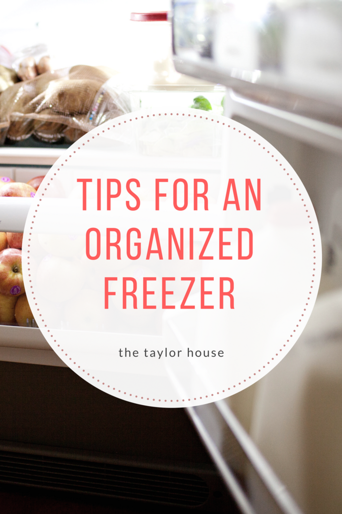 Tips For an Organized Freezer