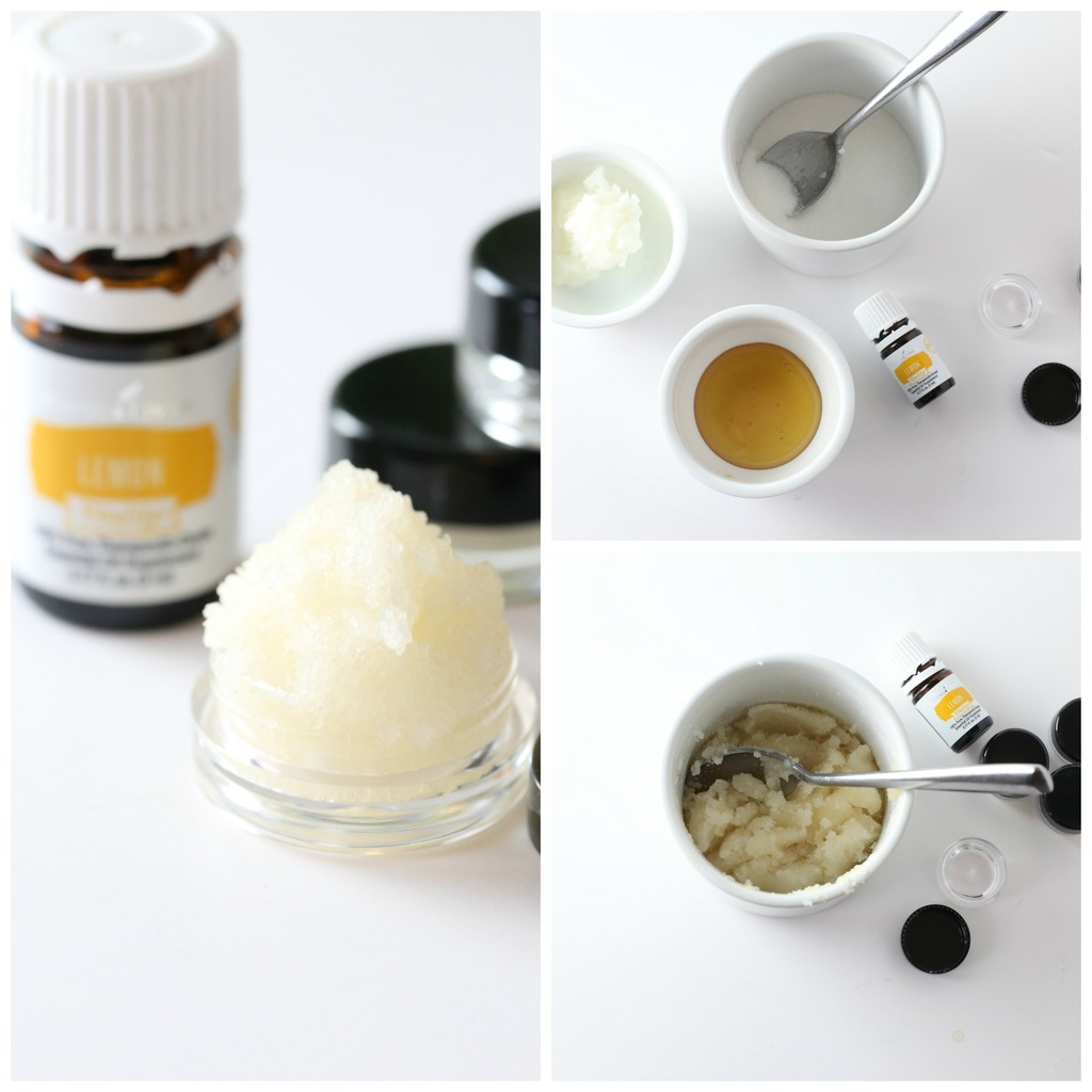Lemon DIY Lip Scrub