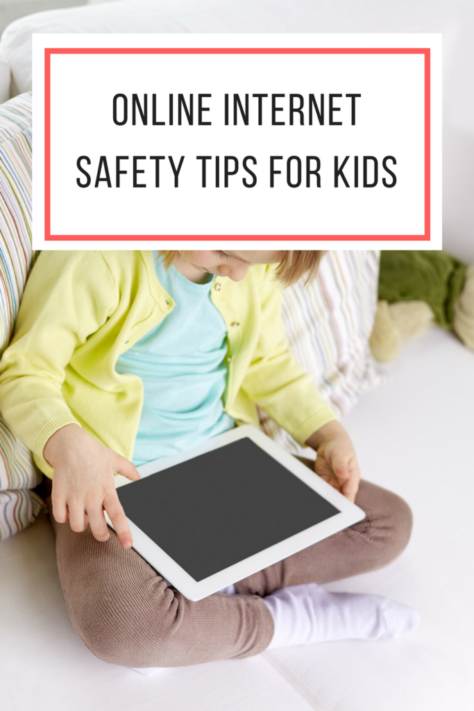 Online Internet Safety Tips for Kids