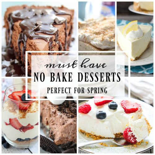 No Bake Desserts Perfect for Spring