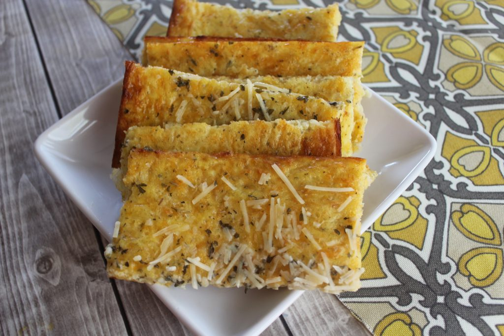 Low Carb Cheesy Bread