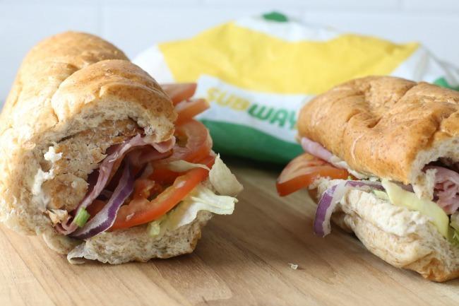 Subway Rotisserie-Style Chicken sandwich