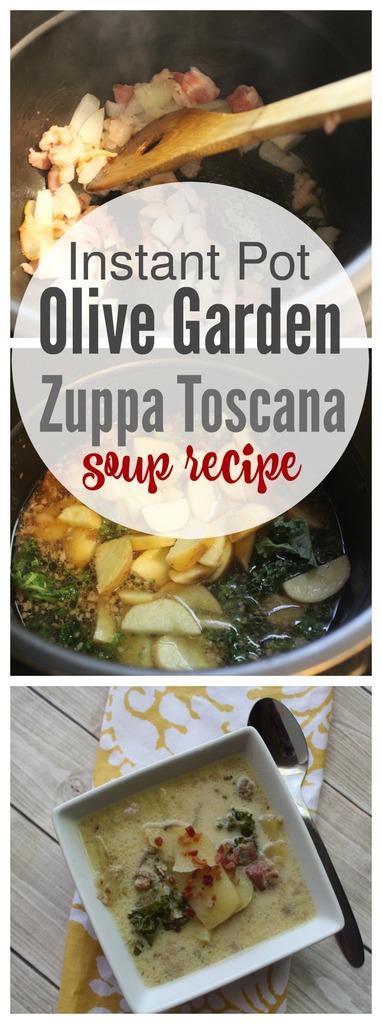 Instant Pot Olive Garden Zuppa Toscana Soup