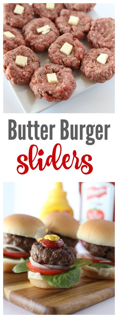 The Best Butter Burger Sliders