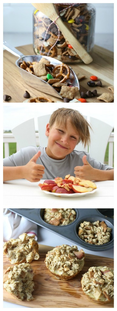 Three Easy Kids Snack Ideas