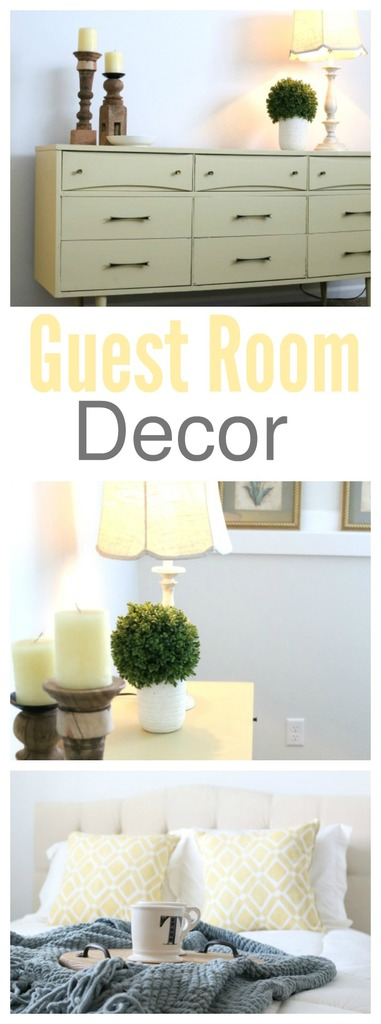 Simple Guest Room Decor