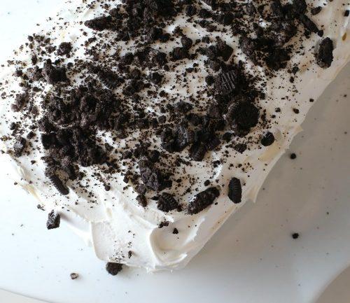 Ice Cream Bar Oreo Cake