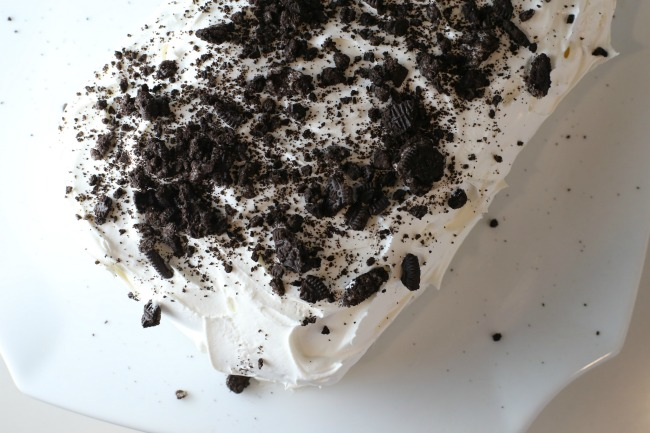 Ice Cream Bar Oreo Cake