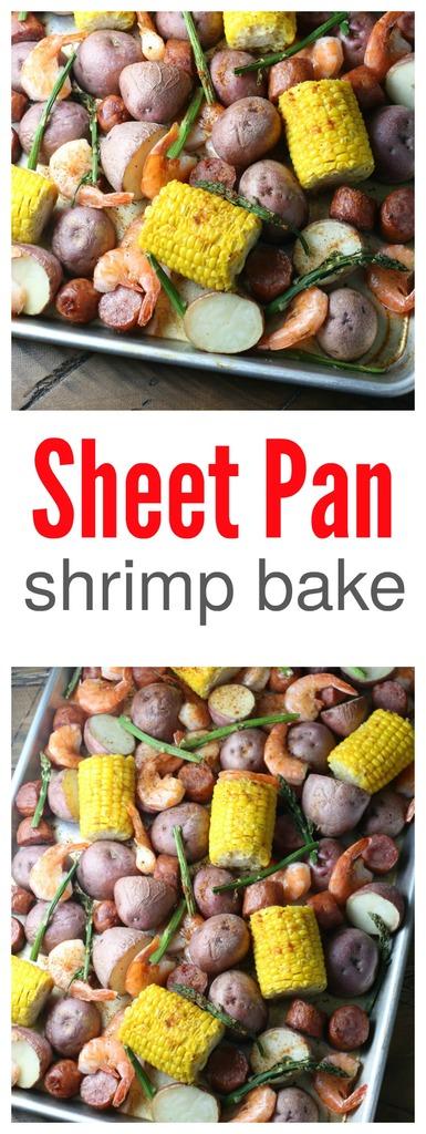 Sheet Pan Shrimp Bake