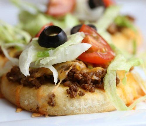 Mini Taco Pizza Recipe