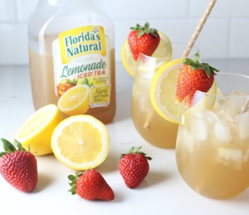 Vodka Lemonade Iced Tea