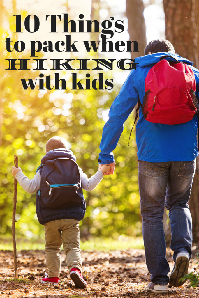 10 Things to Pack When Hiking With Kids