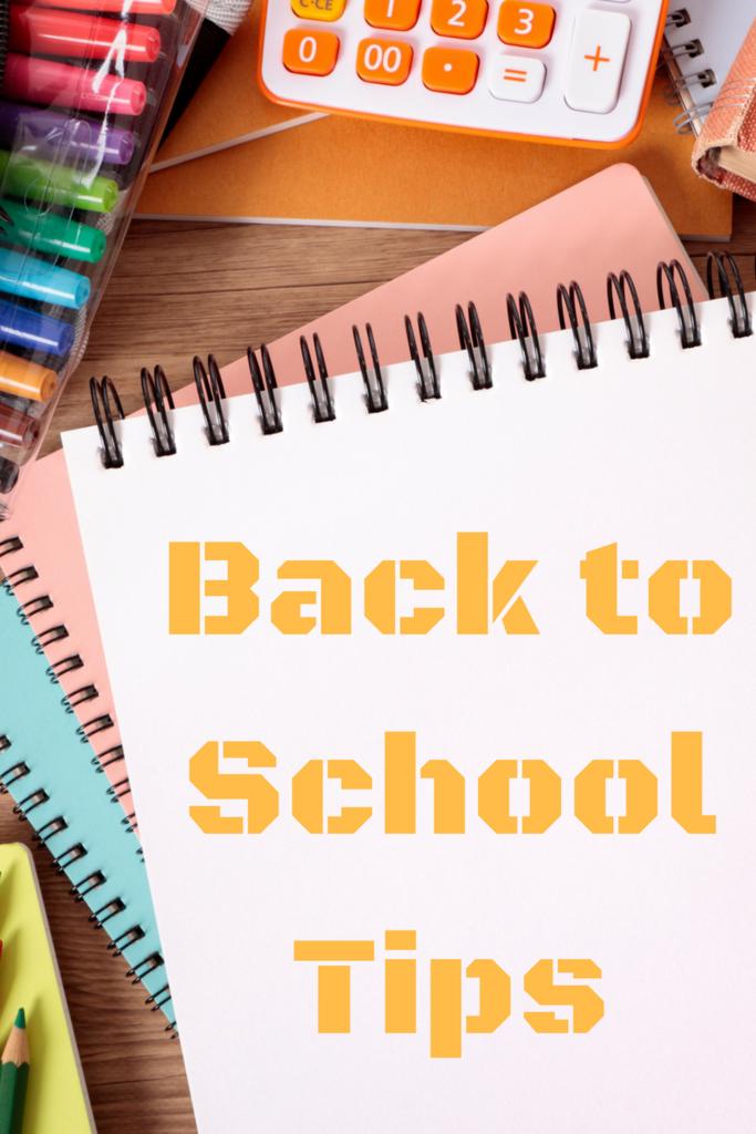 Back to School Tips (Chicken Pot Pie Recipe)