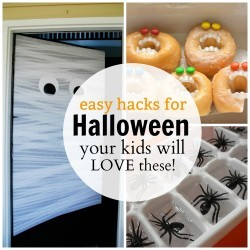 Easy Halloween Hacks the kids will love