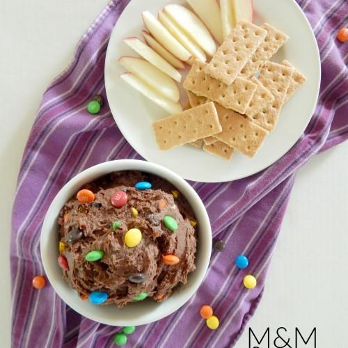 M&M Cake Batter Dip