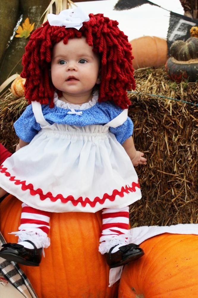 DIY Halloween Costume - Raggedy Ann