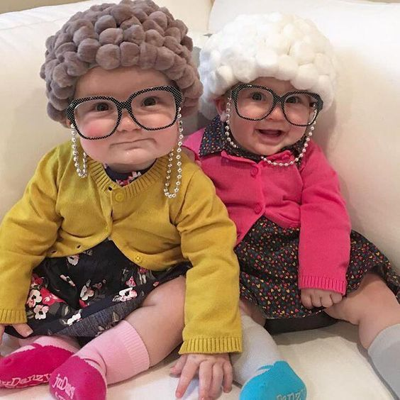 Old Lady Baby Costumes