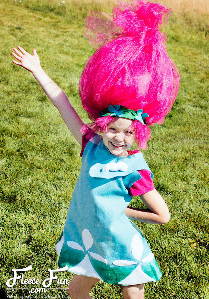 Homemade Trolls Costume