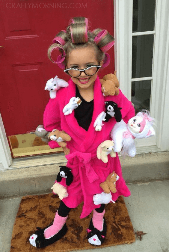 Crazy Cat Lady Costume
