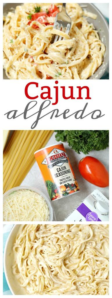 Simple Cajun Alfredo Recipe