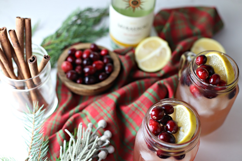 Delicious Winter Wine Cocktail