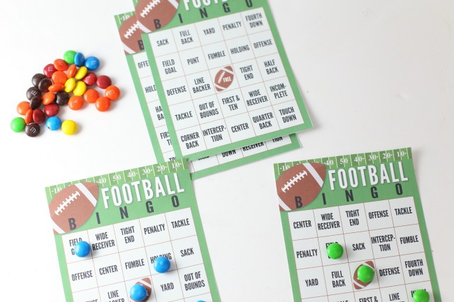 photograph about Printable Super Bowl Bingo Cards referred to as Tremendous Bowl Soccer Bingo Playing cards (Free of charge PRINTABLE) The