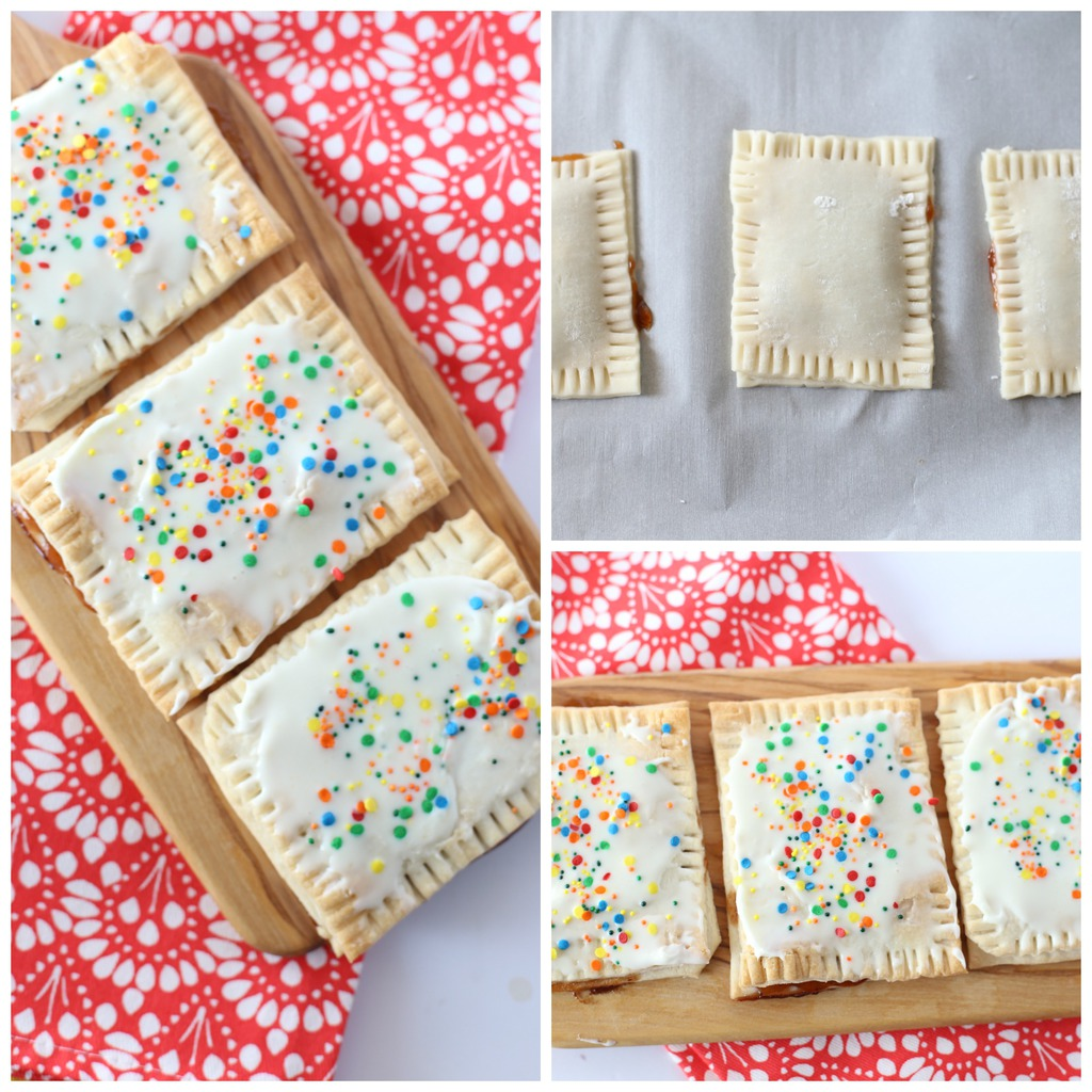 Homemade Pop Tarts (Only 3 Ingredients)