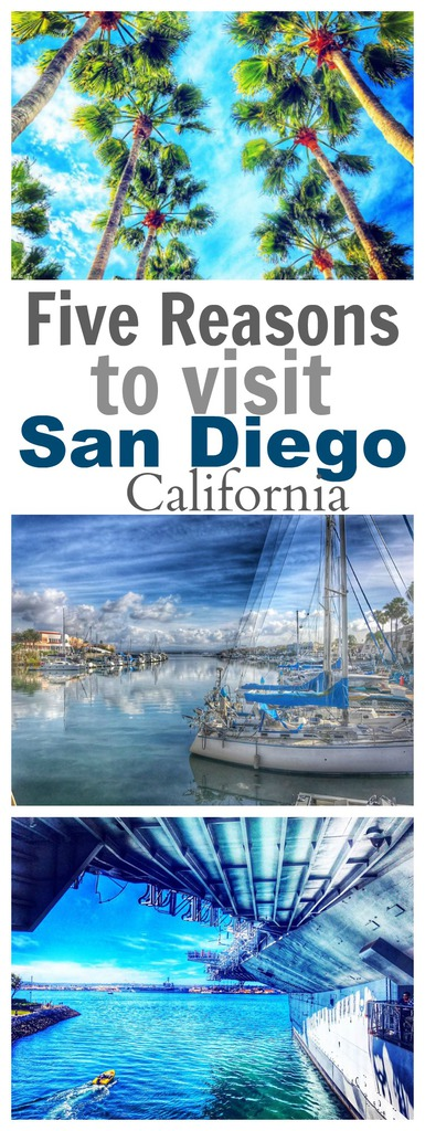 Five Reasons to Visit San Diego, California