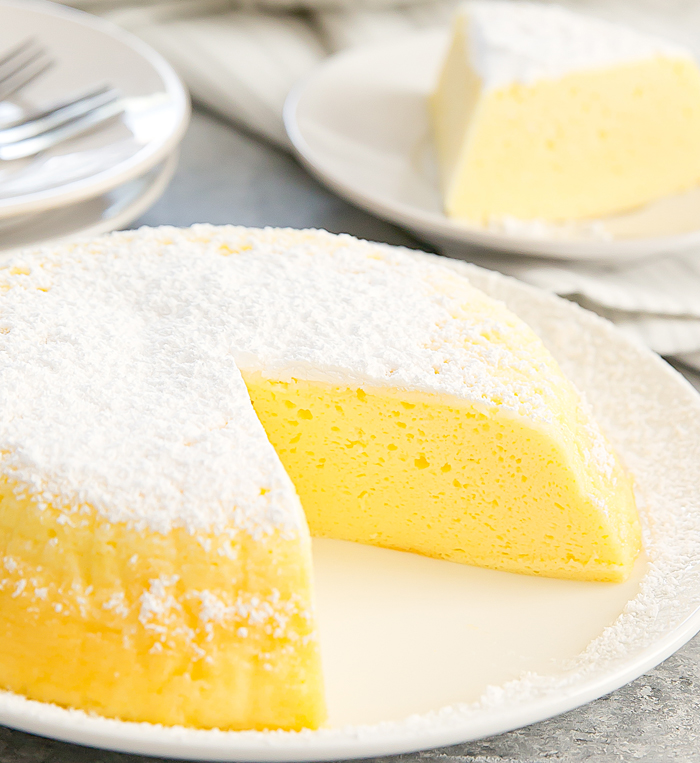 Instant Pot 3 Ingredient Japanese Cheesecake from Kirbie Cravings
