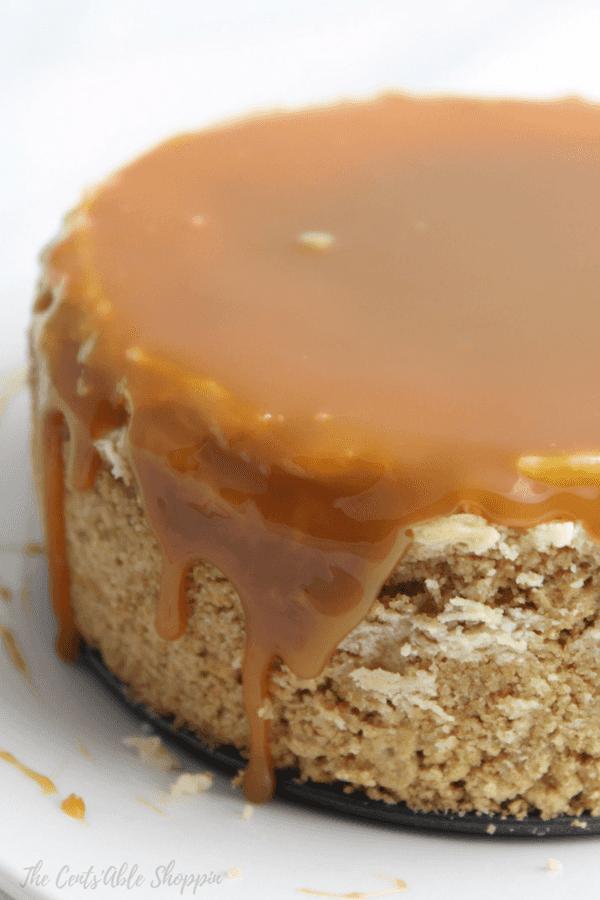 Instant Pot Dulche De Leche Cheesecake