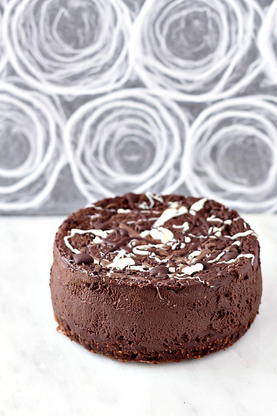 The Best Double Chocolate Cheesecake from Pastry Chef Online